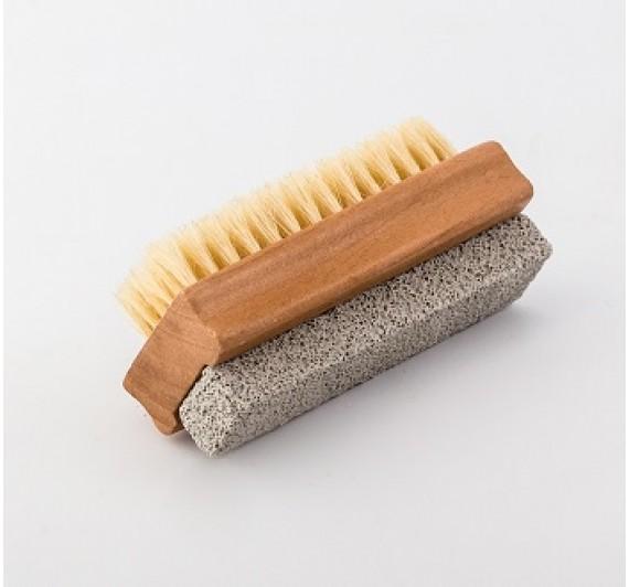Ščetka za nohte z brusnim kamnom za pete (NBP)
