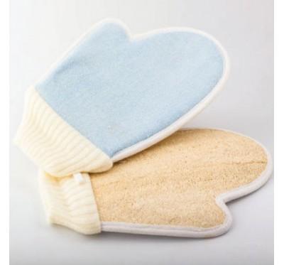 Rokavica za umivanje Loofah/bombaž (ML - PL)