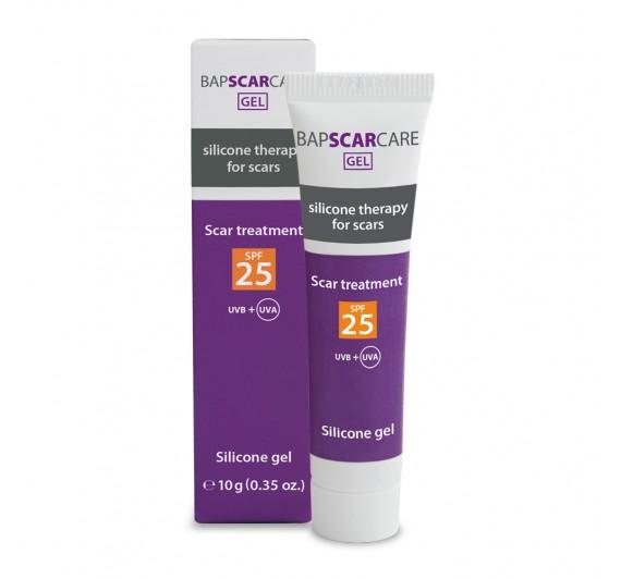 Silikonski gel z zaščitnim faktorjem 25 SPF, 10g