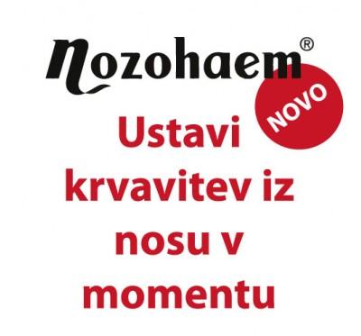 Nozohaem gel za zaustavitev krvavitve iz nosu, 4 X 5ml
